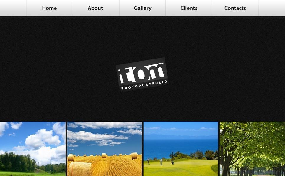 Szablon Galerii Zdjęć #32039 na temat: portfolio fotograficzne New Screenshots BIG