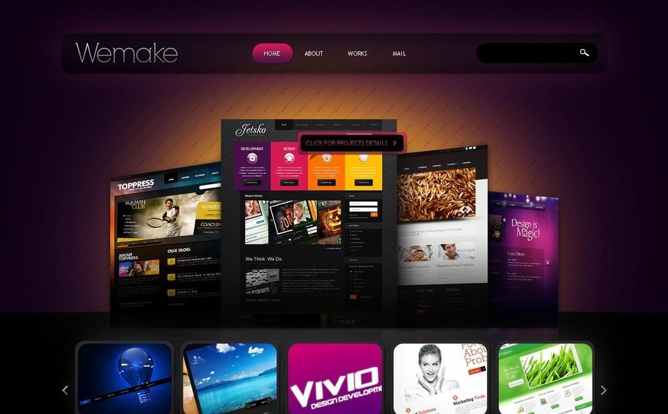 Tema siti web per un sito di web design for Siti di design