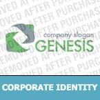 Corporate Identity Template 32168