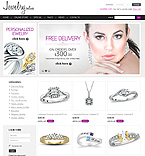 Jewelry VirtueMart  Template 32184