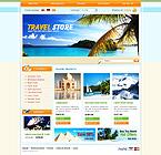 Travel osCommerce  Template 32222