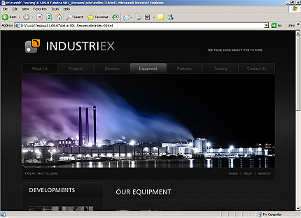 Template 32238 ( Services Page ) HTML Screenshot