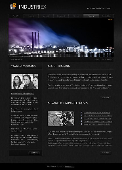 Template 32238 ( Partners Page ) ADOBE Photoshop Screenshot