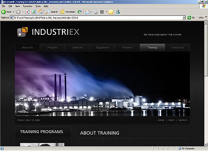 Template 32238 ( Partners Page ) HTML Screenshot