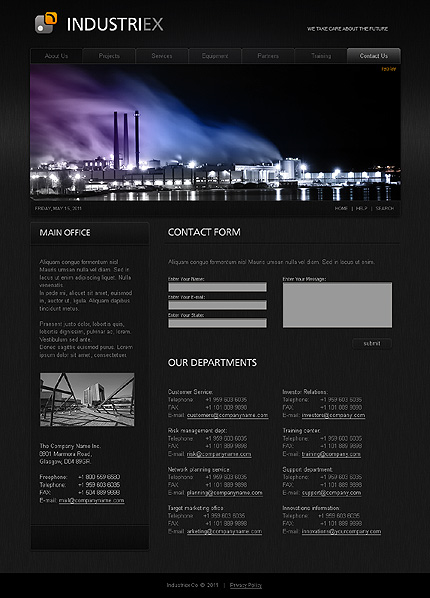 Template 32238 ( Training Page ) ADOBE Photoshop Screenshot