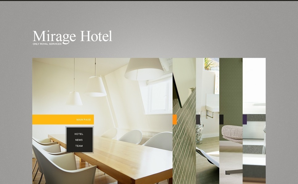 Flash CMS Vorlage für Hotels  New Screenshots BIG