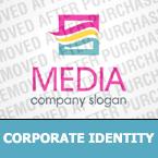 Media Corporate Identity Template 32253