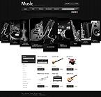 Music osCommerce  Template 32290