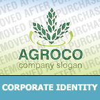 Agriculture Corporate Identity Template 32297