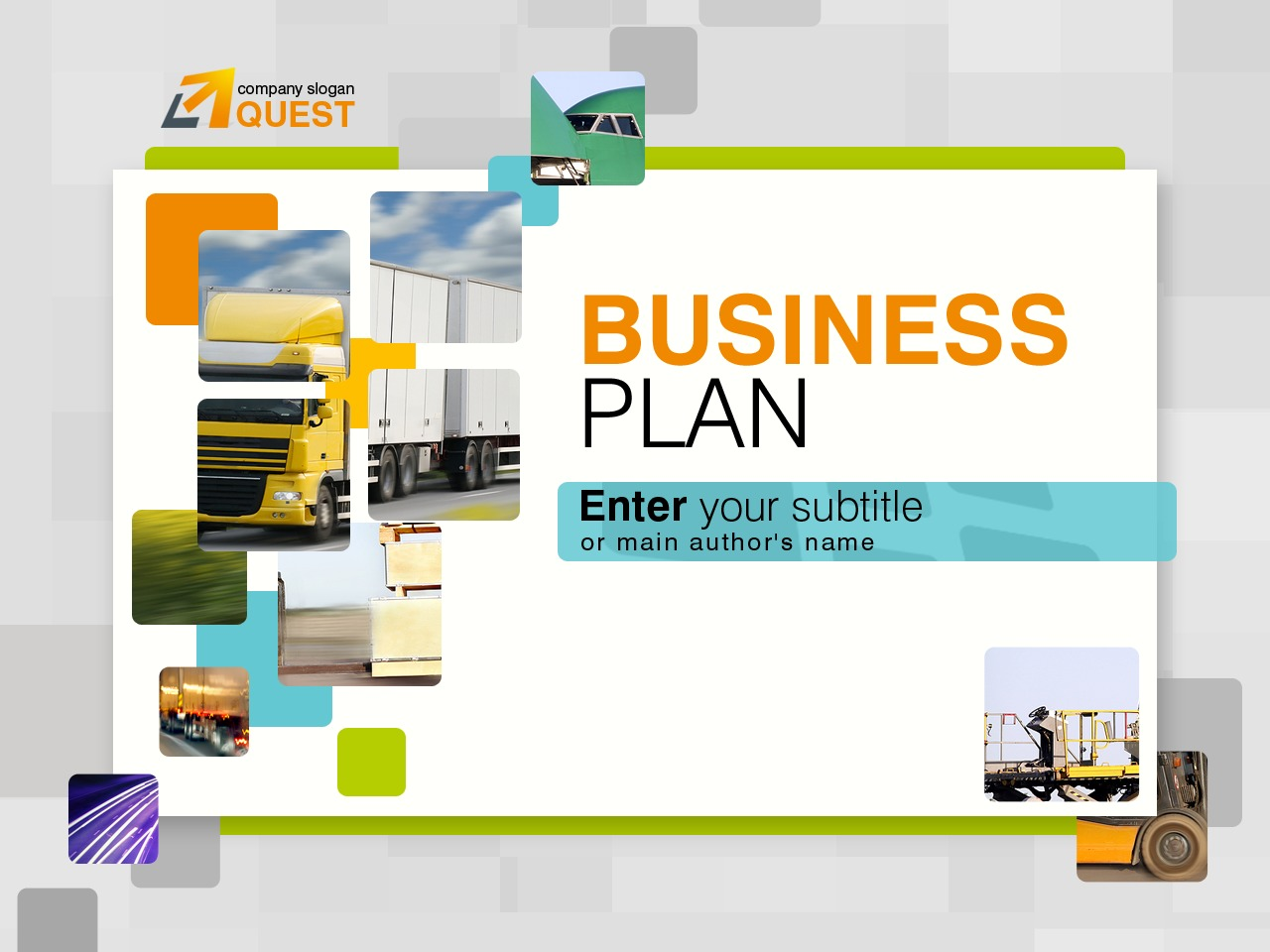 Business & Services PowerPoint Template