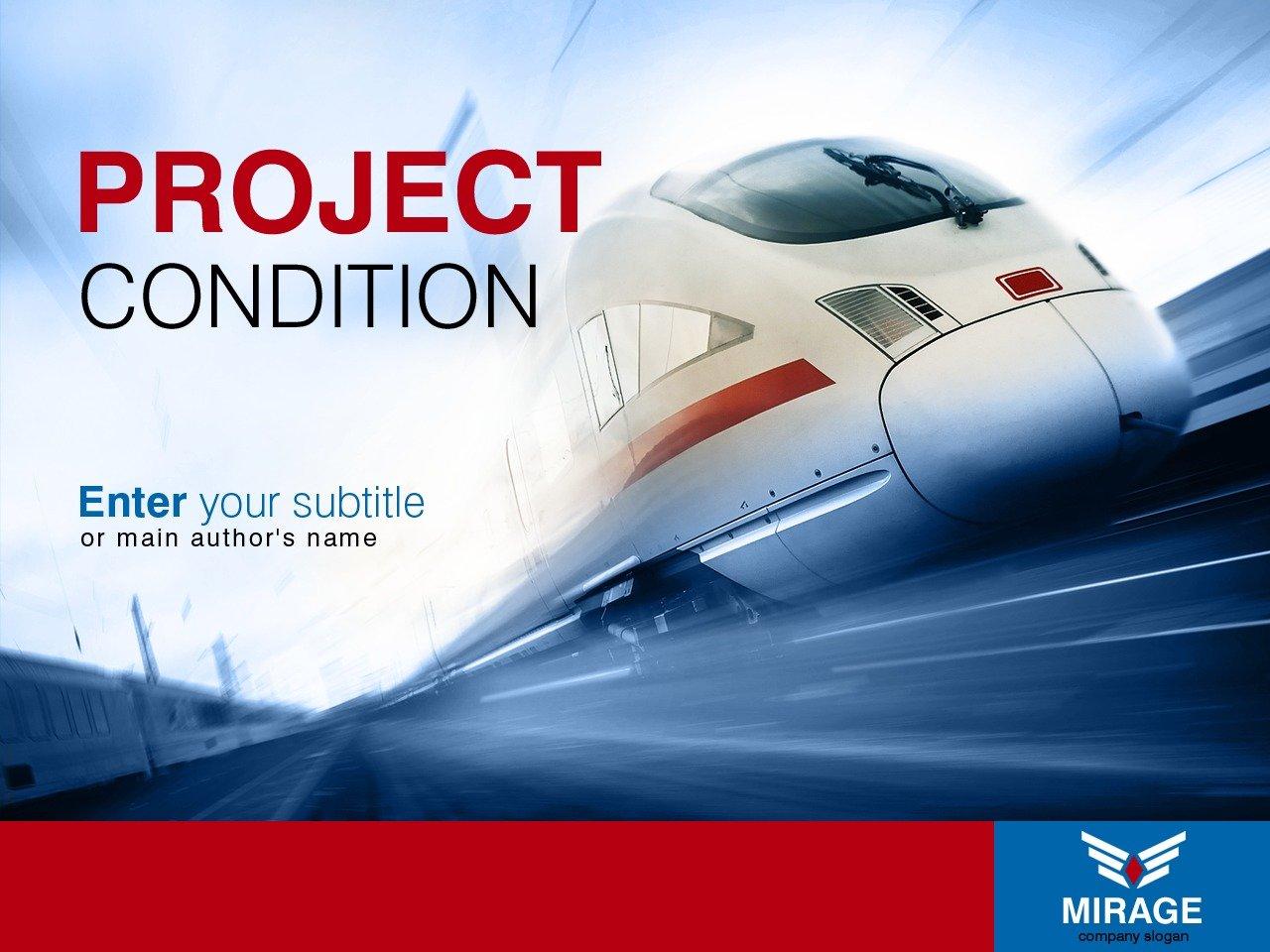 Modèle PowerPoint pour site de services de transport #32247