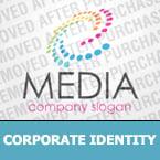 Media Corporate Identity Template 32300