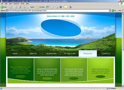 Template 32314 ( Resources Page ) HTML Screenshot