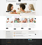 Communications Turnkey Websites 2.0 Template 32333