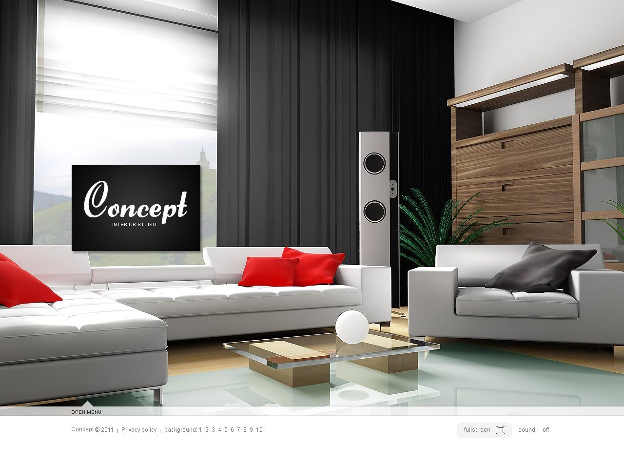 Template silverlight per un sito di design di interni for Siti design interni