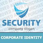 Security Corporate Identity Template 32374