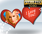 Valentine Video Ecards Template 32398