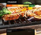 Cafe & Restaurant Turnkey Websites 2.0 Template 32413