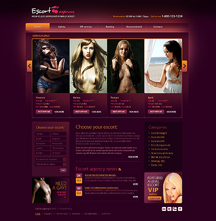 ТИП ШАБЛОНУ : CSS Full Site Flash 8