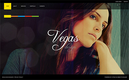 ADOBE Photoshop Template 32543 Home Page Screenshot