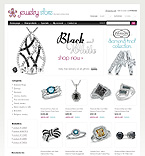 Jewelry osCommerce  Template 32557
