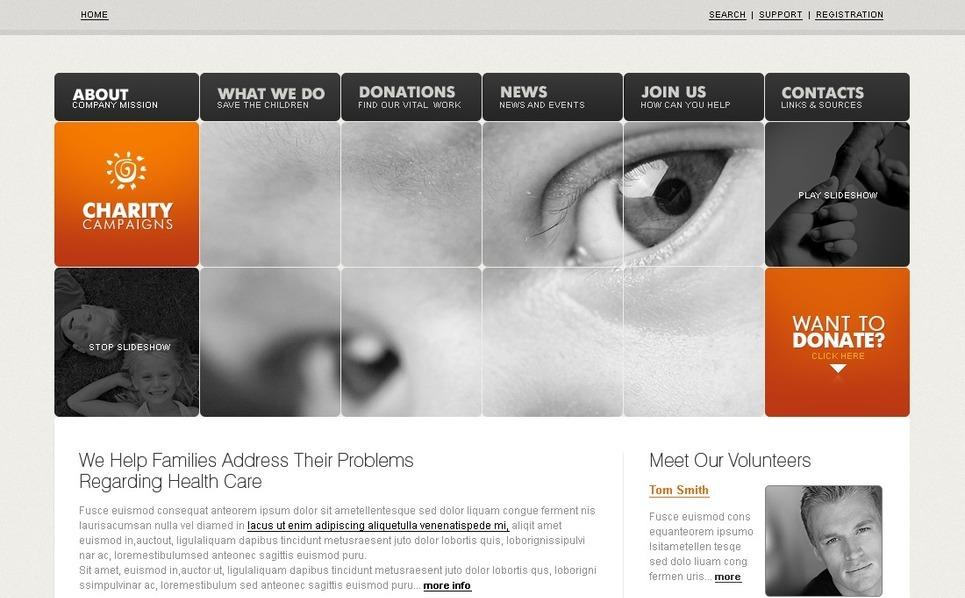 SWiSH Vorlage für Wohltätigkeit  New Screenshots BIG