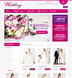 Wedding osCommerce  Template 32562