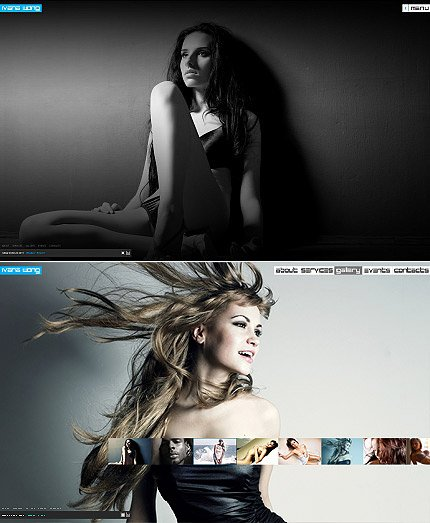 ADOBE Photoshop Template 32625 Home Page Screenshot