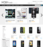 Electronics osCommerce  Template 32645