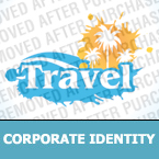 Travel Corporate Identity Template 32661
