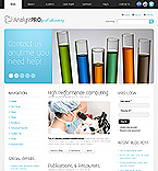 Science Drupal  Template 32734