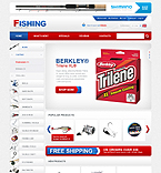Sport osCommerce  Template 32736