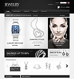 Jewelry osCommerce  Template 32737