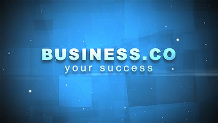Logo Animé After Effects pour site d'affaires et de services #32781