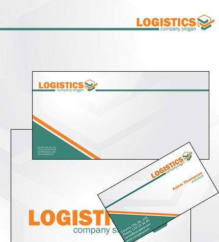 Plantilla de Identidad Corporativa #32752 para Sitio de Transporte