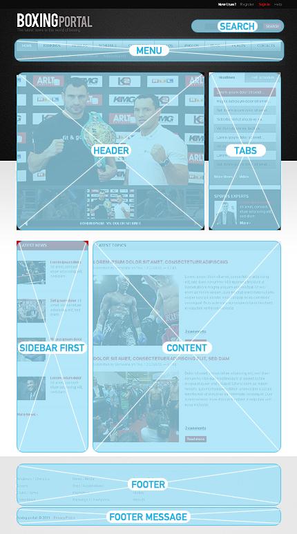 Drupal Template 32834 Main Page Screenshot