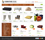 Furniture osCommerce  Template 32837