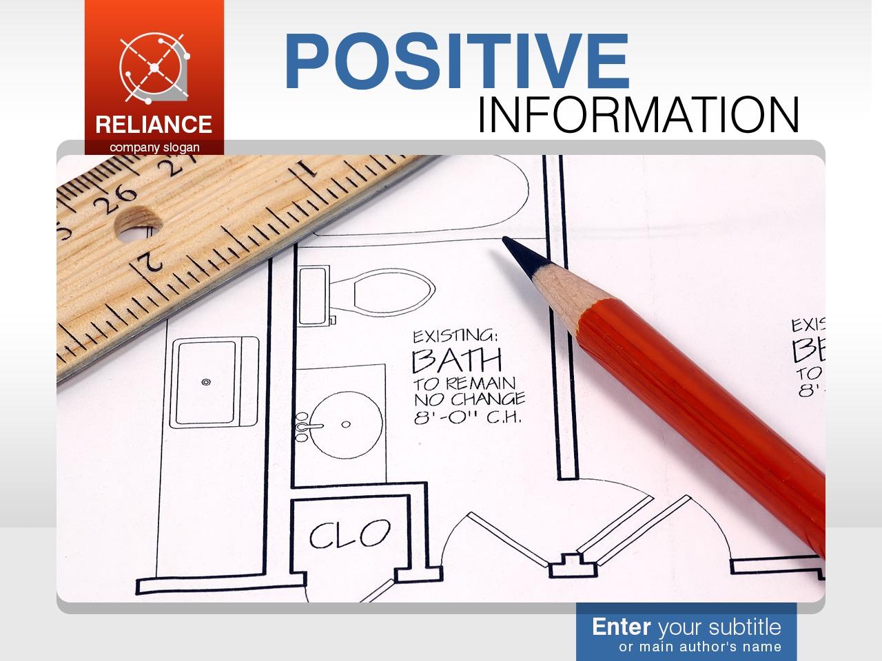 Modèle PowerPoint pour site de services de rédaction #32890