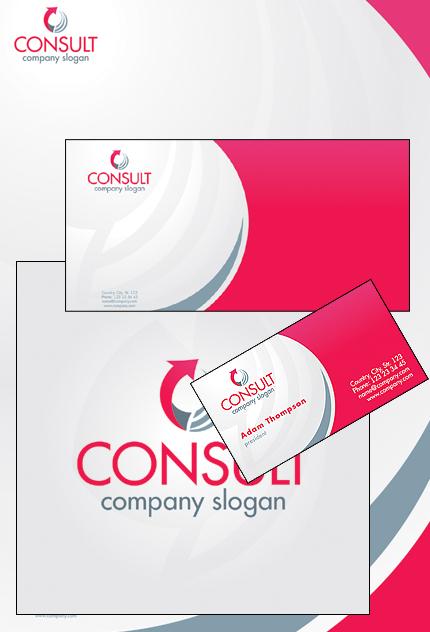 Plantilla De Identidad Corporativa #32878 para Sitio de Gráficos - captura de pantalla