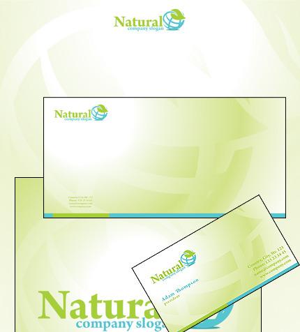 Plantilla de Identidad Corporativa #32877 para Sitio de Herbario