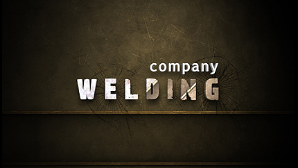 Welding After Effects Logo Reveal