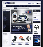 Cars VirtueMart  Template 32926