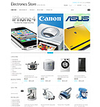 Electronics osCommerce  Template 32927