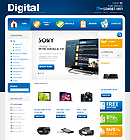 Electronics osCommerce  Template 32930