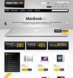 Computers osCommerce  Template 32996