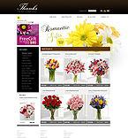Flowers osCommerce  Template 32997