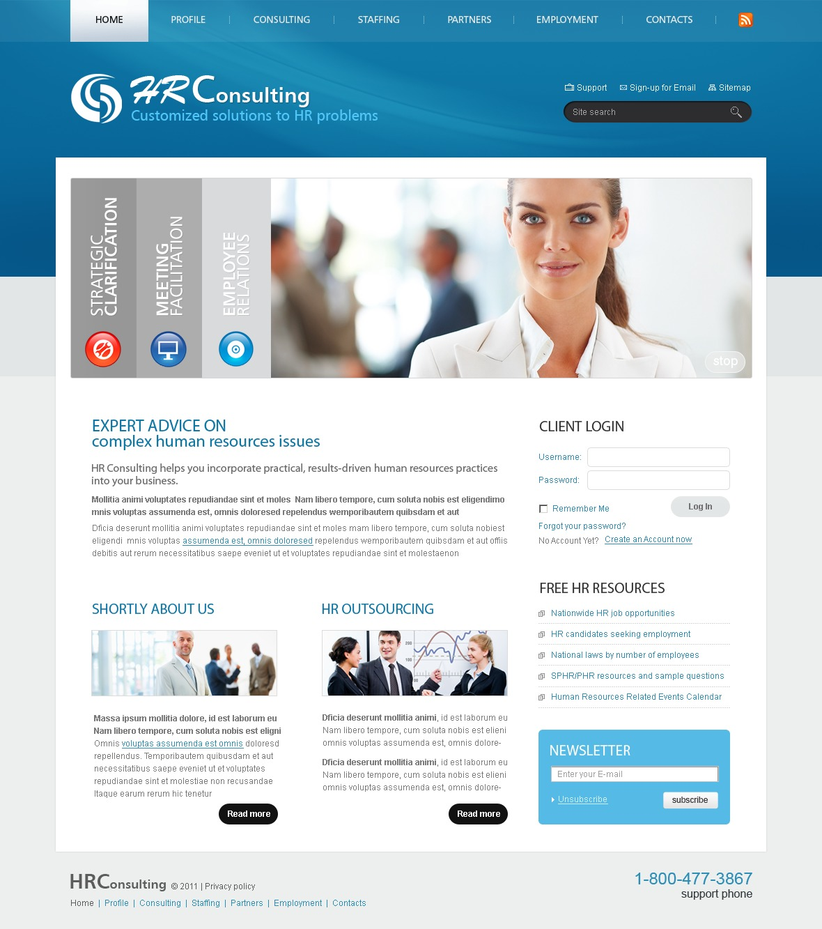 consulting website template 32969