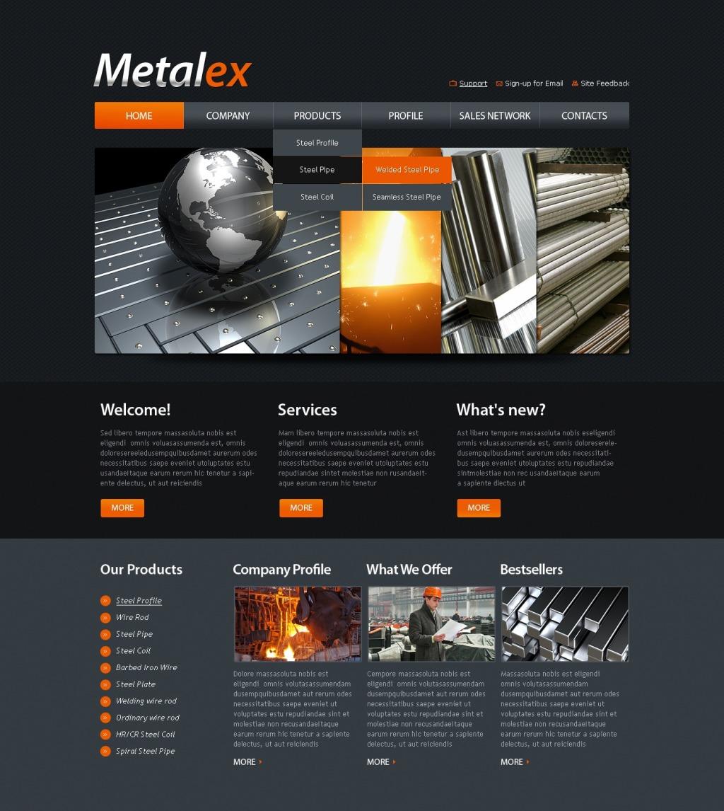 Шаблоны сайтов производственных компаний как пользоваться программой для создания сайтов