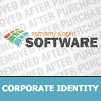 Software Corporate Identity Template 33021