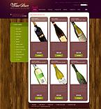 Food & Drink ZenCart  Template 33087